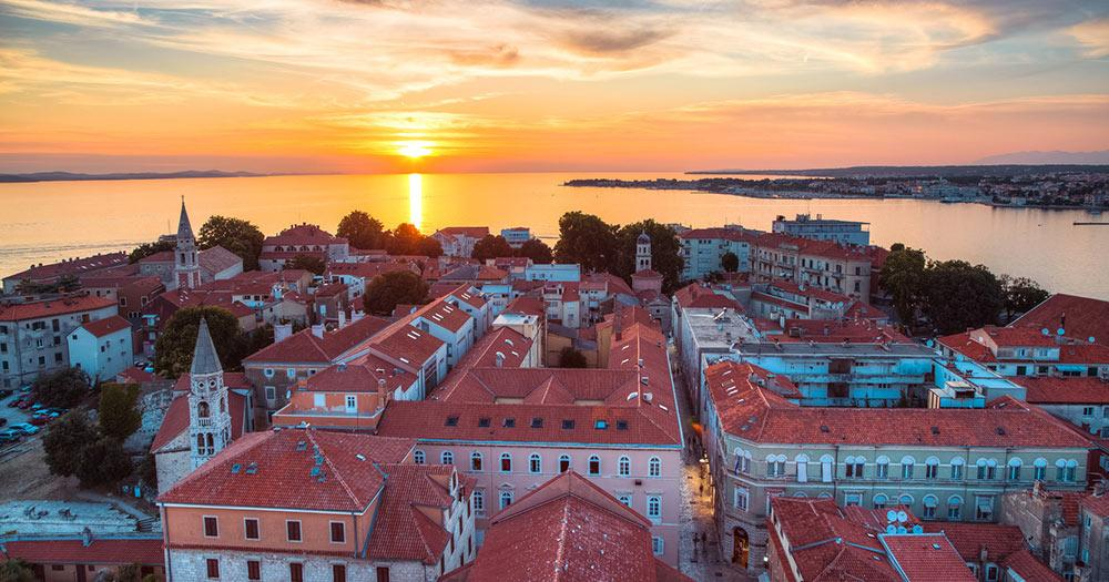 Zadar - Sonnenuntergang
