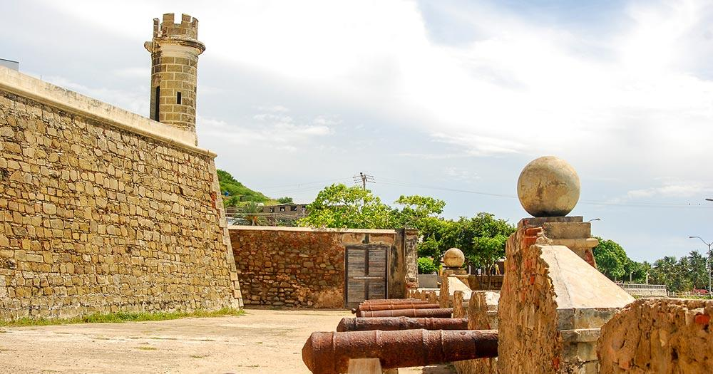 Isla de Margarita - Castillo san Carlos de Borromeo.