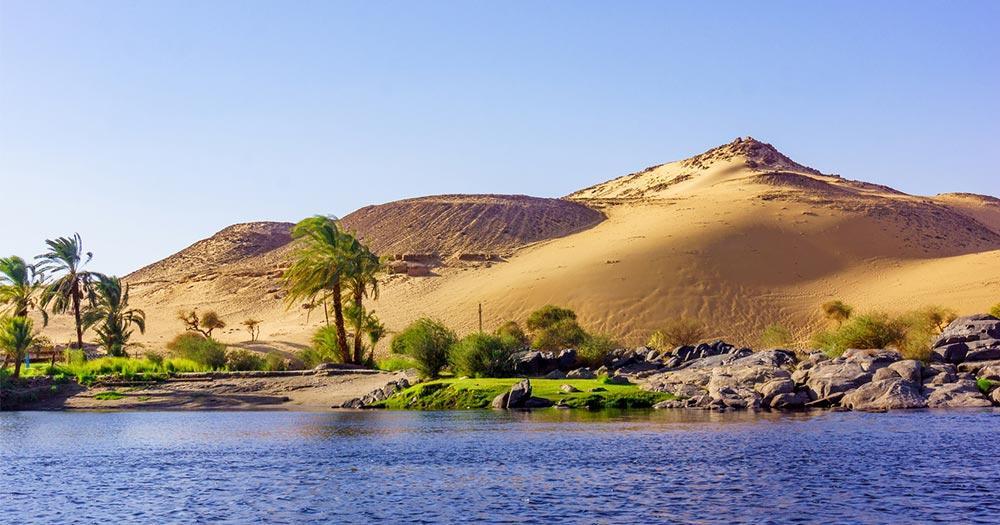 Luxor - der Fluss Nil