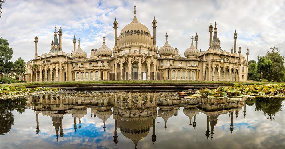 Brighton - Panorama vom Brighton Pavilion
