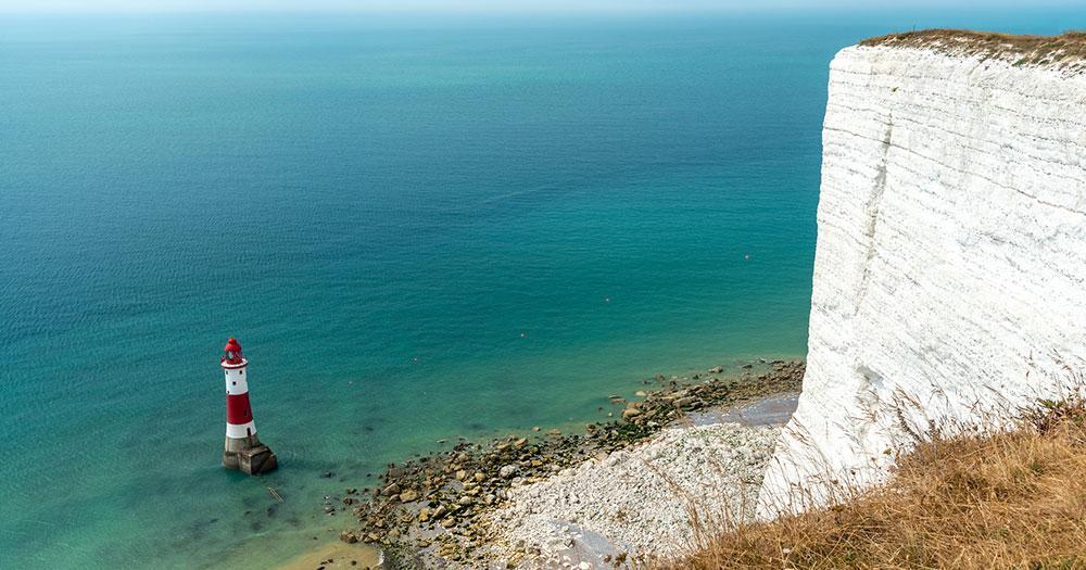Brighton - Leuchtturm von Beachy Head