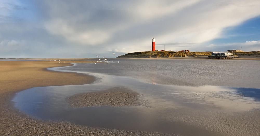 Texel - Blick auf den Leuchtturm
