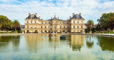 Jardin du Luxembourg - Garten mit See