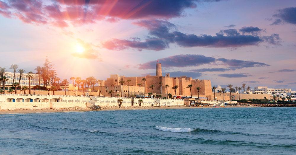 Tunesien - Blick auf das Fort Ribat