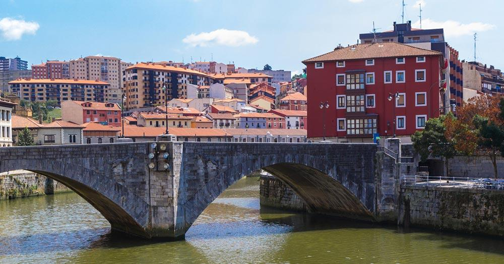 Bilbao - San Anton Brücke