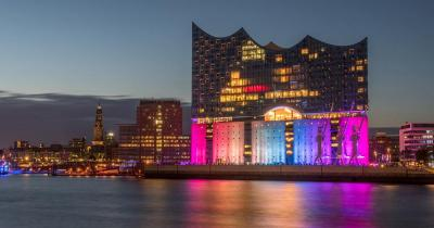 Elbphilharmonie - Farbenspiele