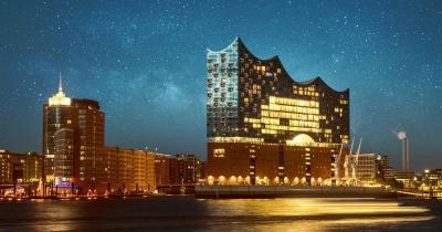 Elbphilharmonie - im Sternenlicht