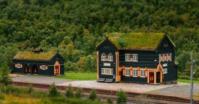 Miniatur Wunderland - Mini Bahnhof