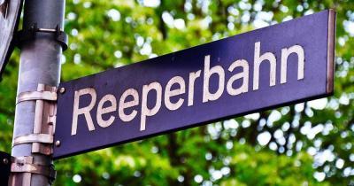 Reeperbahn - Straßenschild