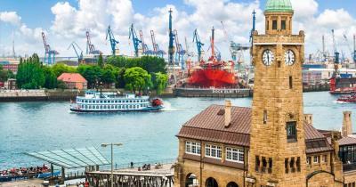 Hamburger Fischmarkt - Hafen
