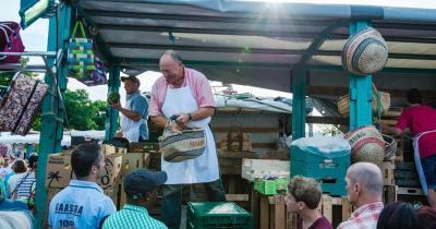 Hamburger Fischmarkt - Marktschreier