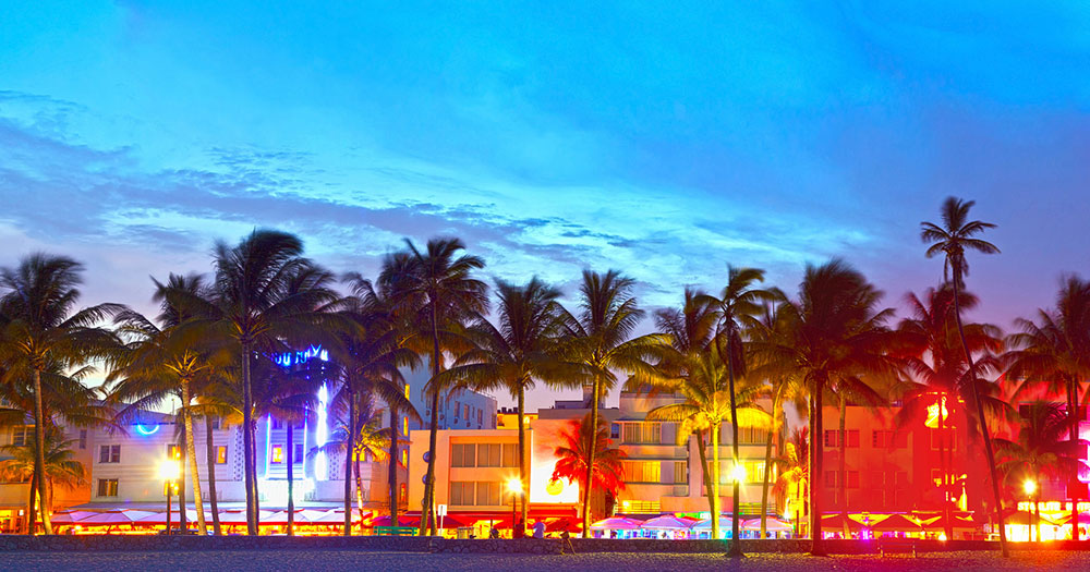 Florida - Nightlife in Miami Beach