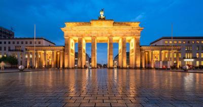 Brandenburger Tor - am Abend