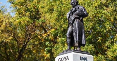 Museo del Prado - Statue von Goya