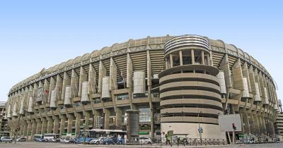 Estadio Santiago Bernabéu - Aussenansicht