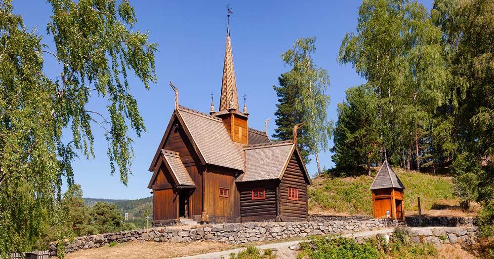Lillehammer - Gjovik Kirche