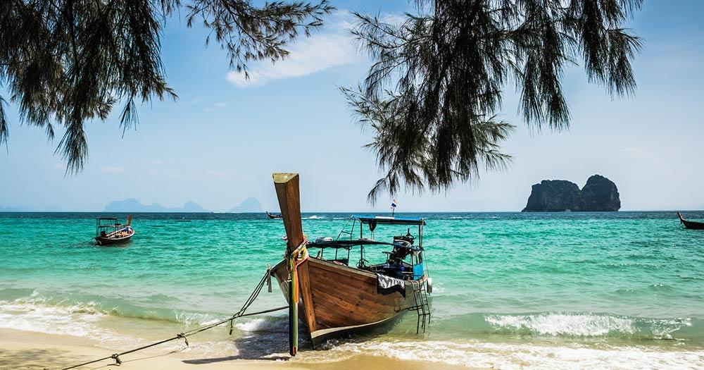 Ko Phi Phi Inselgruppe - Longtail Boot