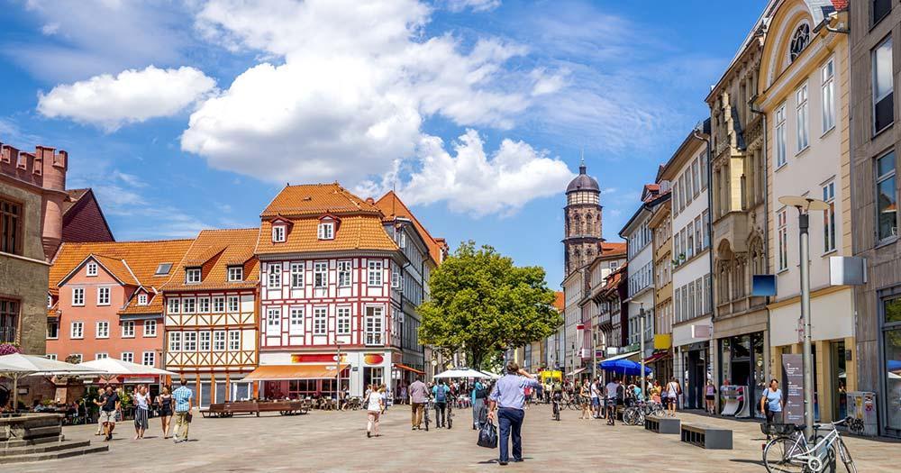 Göttingen - Fußgängerzone