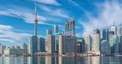 Toronto - Skyline bei Tag