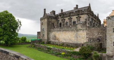 Stirling Castle - Aussenmauer