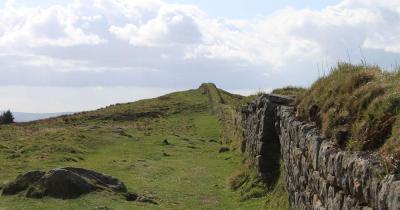 Hadrianswall - die Mauer