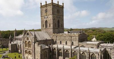 Kathedrale von St Davids - Aussenansicht