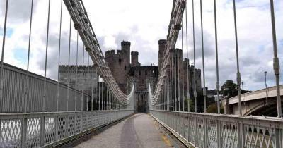 Conwy Castle - Brücke zur Burg