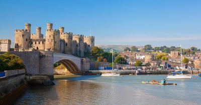 Conwy Castle - Blick auf die Burg