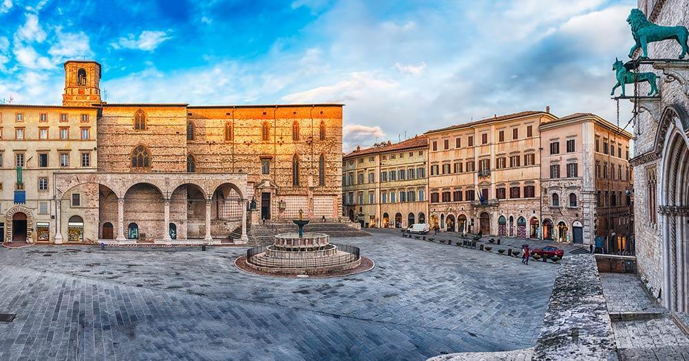 Perugia - Platz IV Novembre