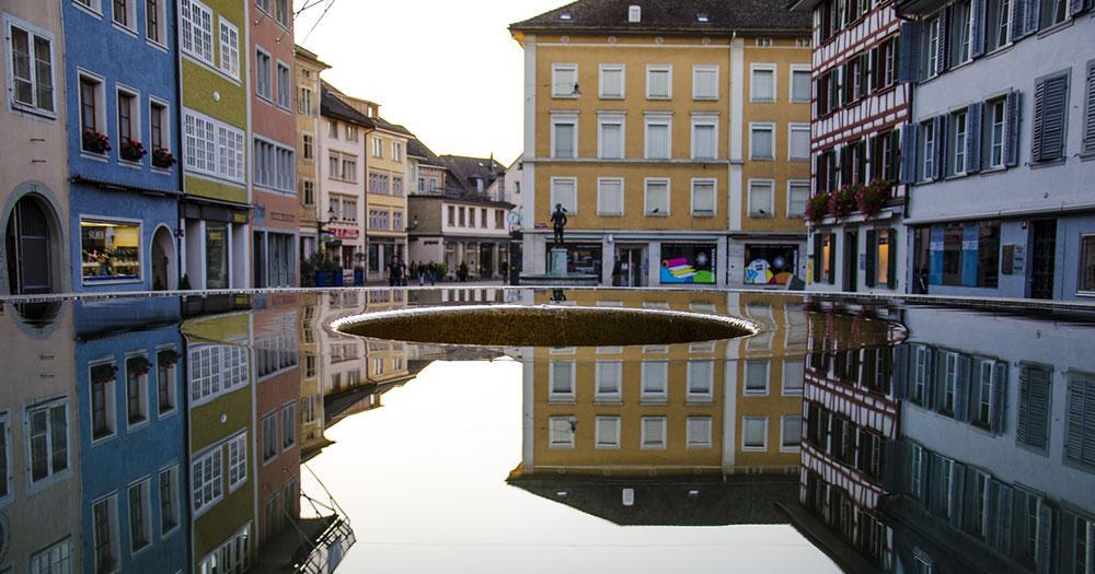Winterthur - Wasserfläche
