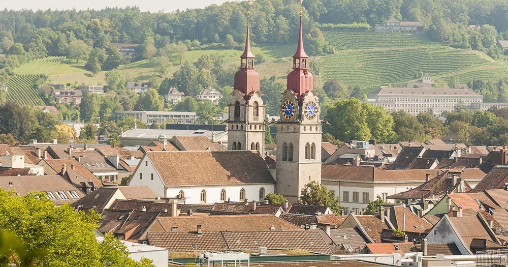 Winterthur - Panoramablick