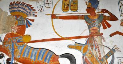 Museo Egizio - Ägyptisches Fresko