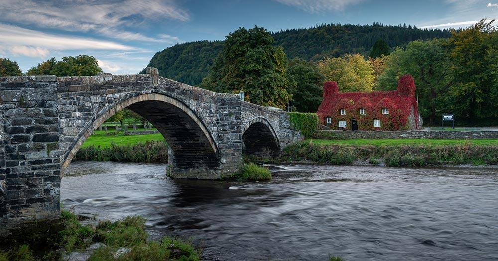 Conwy - Pont Far Bridge