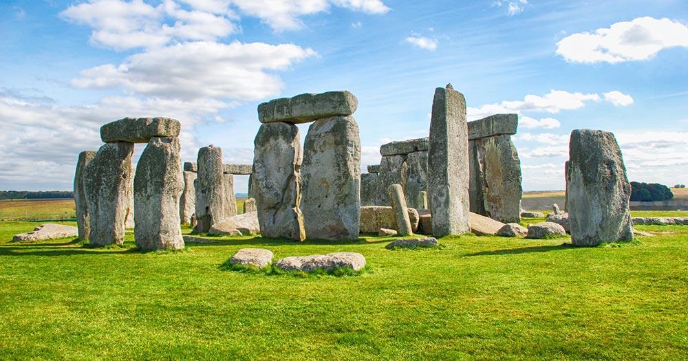 Stonehenge - am Tag