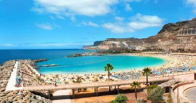 Gran Canaria - Blick auf wunderschöne Bucht