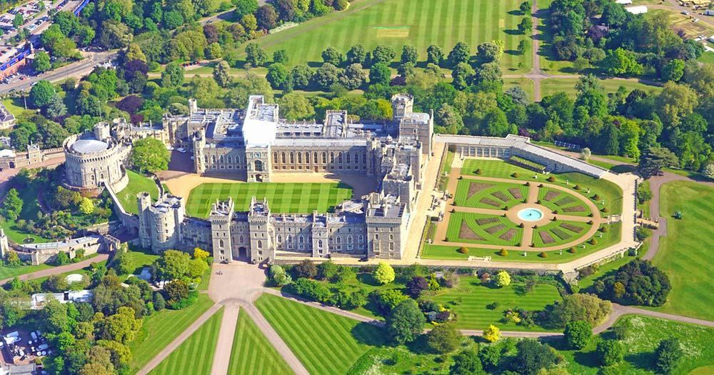 Windsor Castle - Luftaufnahme