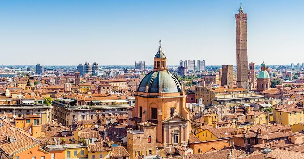 Bologna - Panoramablick