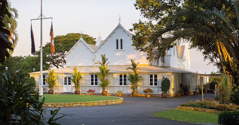 Darwin - Government House