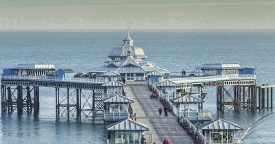 Llandudno - Pier im viktorianischem Stil