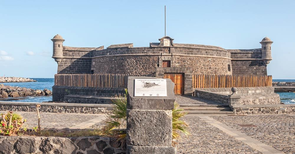 Santa Cruz de Tenerife - Castillo de San Juan Bautista