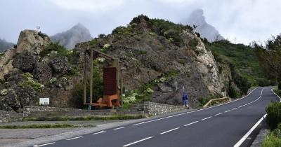 Nationalpark Garajonay - Zufahrt zum Park
