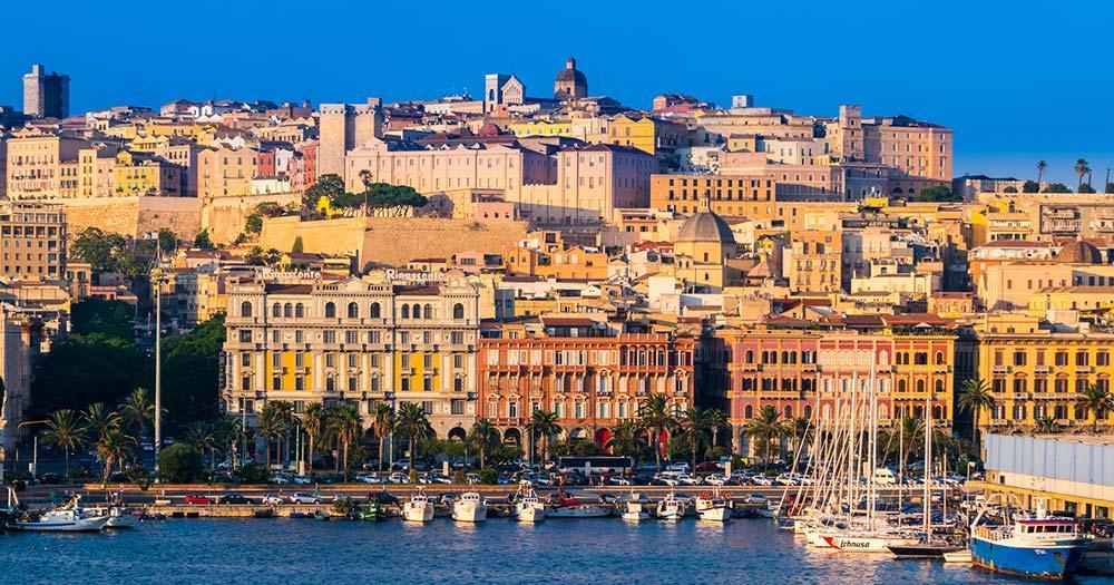 Cagliari - Panoramablick