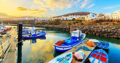 El Cotillo - Hafenbilder