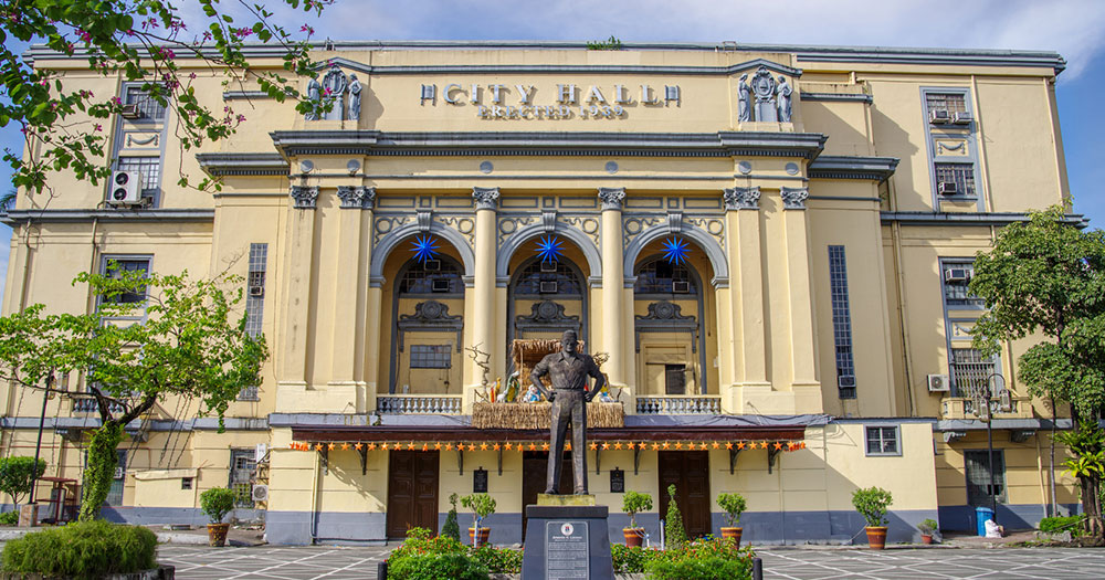 Manila - Das Rathaus von Manila