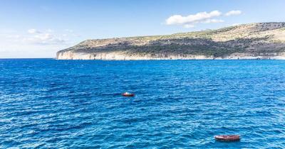 Unterwasserhöhlen von Pirgos Dirou - Bucht