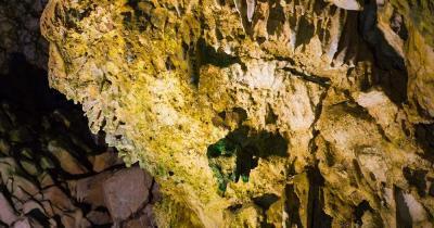 Unterwasserhöhlen von Pirgos Dirou - Innere der Höhle
