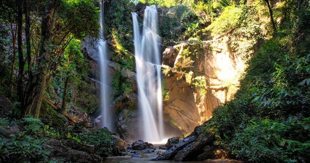 Chiang Mai - Morkfa Wasserfälle
