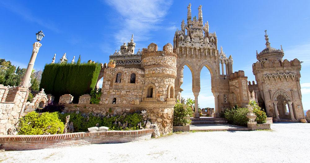 Malaga - Castillo Colomares