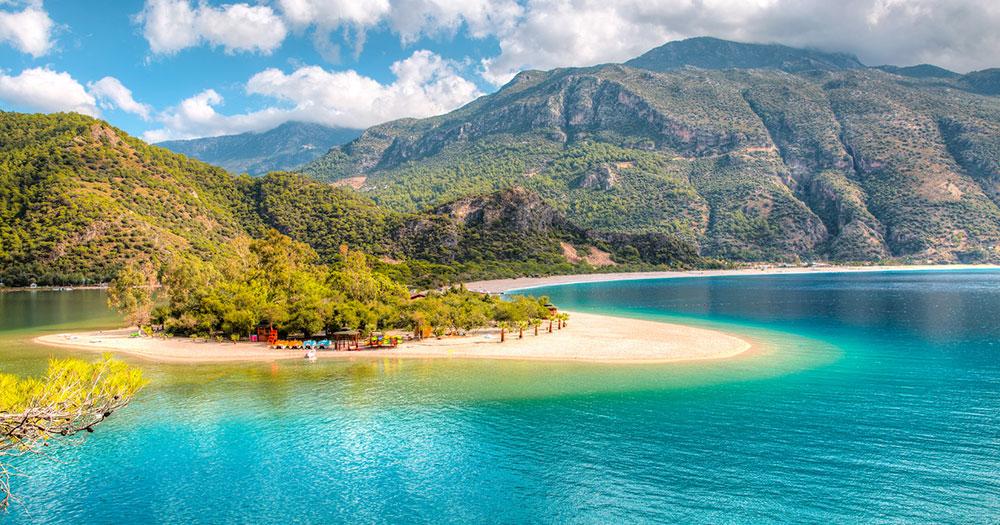 Fethiye - Strand von Oludeniz bei Fethiye