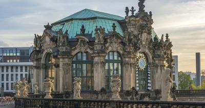 Dresdner Zwinger - Ansicht von vorne